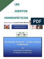 Protocolos Homeopáticos Banerji_Remedios y Diluciones Óptimas
