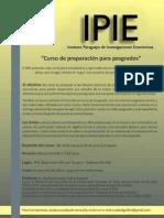 Curso Matemáticas y Microeconomía 2012