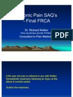 Chronic Pain SAQ's