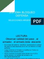 Desarrollo sistema Bloqueo-Defensa