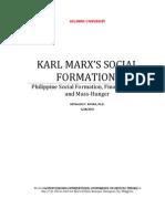 33rd Phavisminda.karl Marx's Social Formation - r.y. Rivera