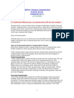 Bussiness Communication- MB0039 (15 PAGES)