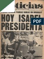 Diario Noticias - Argentina ´Año 1, No. 0, 19 de noviembre de 1973