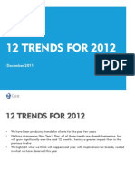 Trends for 2012 Final CARAT