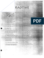 Ragtime the Musical (Conductor's Score)