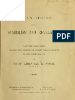 Abraham Kuyper - The Antitheses Between Symbolism and Revelation