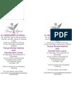 Wedding Invitation- Word Document