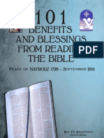 101 Benefits and Blessings Booklet