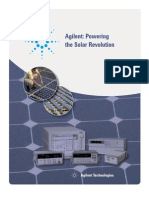 Agilent - Solar PV Test Bed