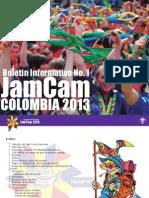 Boletin No 1 JamCam 2013