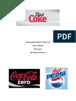 Coke Analysis Phase One