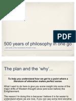 500 Years of Thinking
