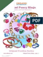 Origami Fancy Rings.