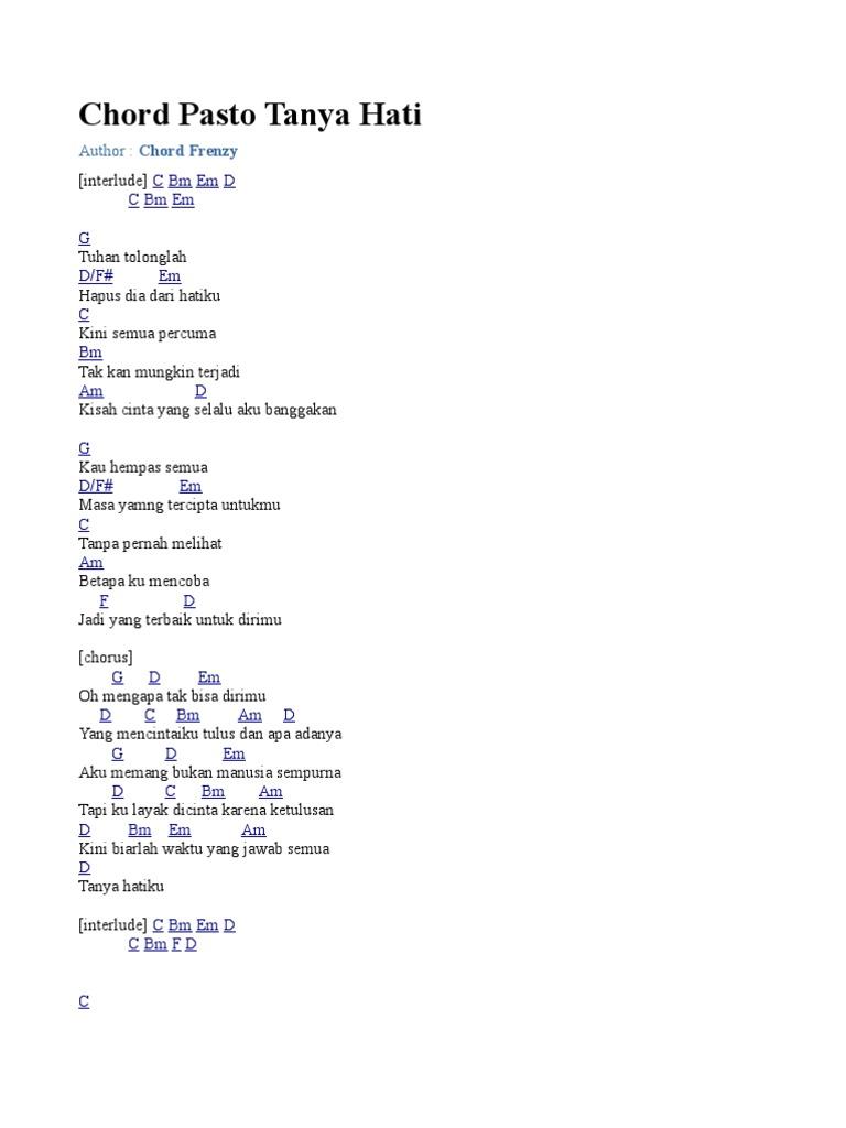 kord lagu