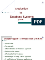 DBMS First Chapter Part-1 2011