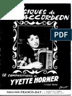 Yvette Horner - 12 Compositions