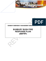 111202 Support Plan Bunbury Bush Fire Response Plan-1