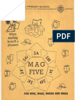 "Kebun Baru Primary School ''Level Magazine"" of Primary 5 (1990)"