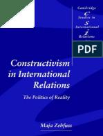 Constructivism International Relations