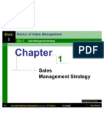 Chapter 1 Sales Management Strategy-Sales and Distribution Management