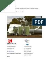 Yates Fertiliser Bio Filtration Trials Measurement by E-Nose (20!1!2011)