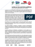 MANIFIESTO DEFINITIVO RECORTES 10.01