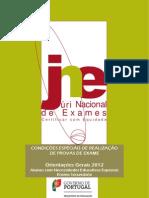Orientacoes Gerais Exames rio 2012