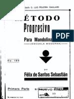 Metodo de Mandolina Felix Santos Sebastian