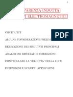Trasparenza Indotta Da Campi Elettromagnetici - Presentazione