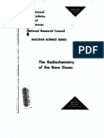 The Radio Chemistry of Rare Gases.us AEC
