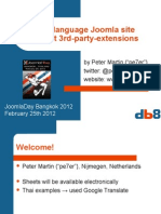 Joomla 2.5 multi-language website without using 3rd extensions in 10 steps
