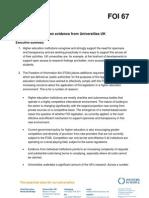 Written Evidence From Universities UK