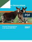 Demographic Health Survey2007-DRC