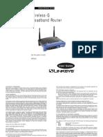 WRT54G Wireless Router Manual