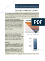Virtualization Consolidation Cost Savings Calculator