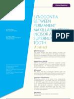 Dr. AMWagh Nov Clinical Dentistry Synod on Ti a Publication
