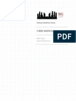 Big City User Guide