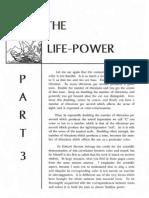 Life Power lesson Three