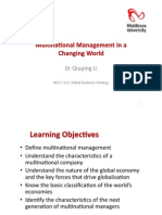 1-Multinational Management in a Changing World-s