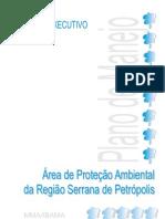 Plano de Manejo APA Petropolis - Resumo