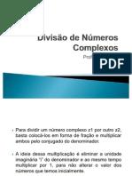 Divisao de números Complexos