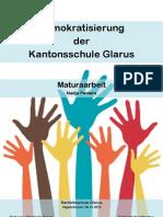 Demokratisierung der Kantonsschule Glarus
