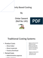 52652058 Activity Based Costing