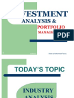 Investment Lecture on Industry Analysis