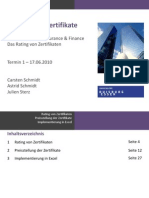 Best-Garant Zertifikate (Topics in Insurance & Finance) Teil 1