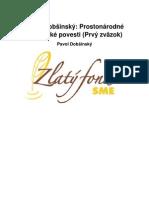 Dobsinsky Pavol Prostonarodne Slovenske Povesti Zvazok 1 Txt