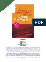 Analisis Dan Desain Objek Dengan Visual FoxPro 8.0