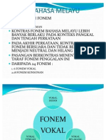 Fonem Bahasa Melayu