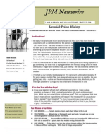 JPM January 2012 Newsletter
