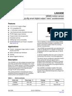 LIS33DE(for China)
